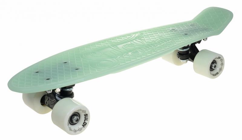 """Sulov Penny board 22"""" Burn Rider zelený fosforeskující"""