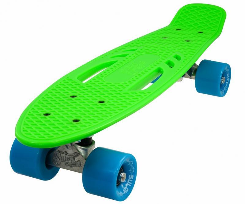 "Sulov 22"" CITY zeleno-modrý penny board"
