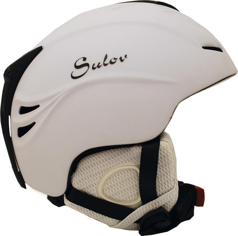 Sulov Shine bílá lyžařská helma - L (59-60cm)