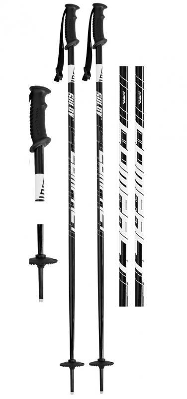 Sulov COMPACT černé sjezdové hole - 125cm