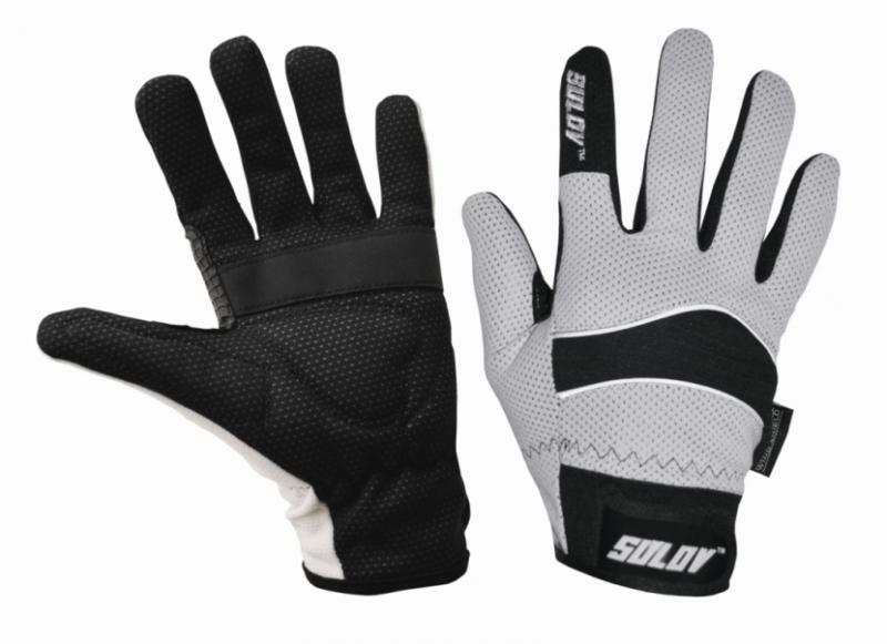 Sulov běžkařské rukavice bílé - S