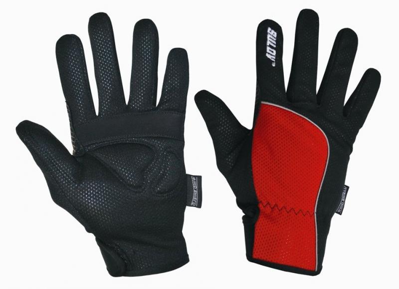 Sulov běžkařské rukavice červené - S