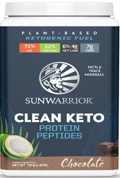 Sunwarrior Clean Keto 720 g - čokoláda