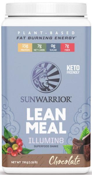 Sunwarrior Lean Meal Illumin8 720 g - skořicová sušenka