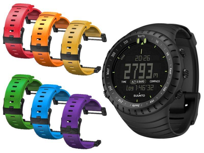 Suunto Core All Black duo color pack pánské digitální hodinky  0a8464330f