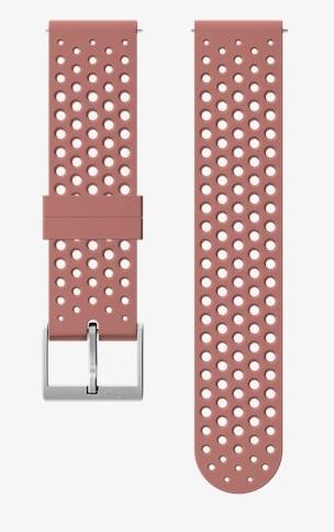 Suunto Suunto 20mm Athletic 1 Silicone Strap Granite Red Size S