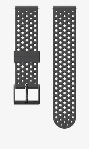 Suunto Suunto 20mm Athletic 1 Silicone Strap Slate Grey Copper Size S