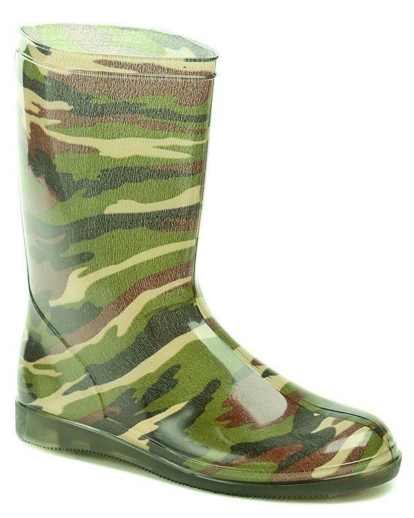Svit Holínky Army zelené dámská obuv - EU 37