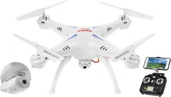 SYMA X5Csw- bílý dron s FPV online přenosem přes WiFi