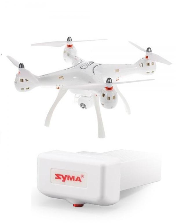 SYMA X8PRO s GPS, návratem domů a pohyblivou HD-FPV kamerou +1x náhradní akumulátor 2000mAh
