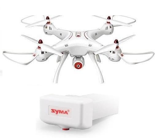 SYMA X8SW - HD kamera, barometr, FPV přenos + 1x Akumulator 2000mAh