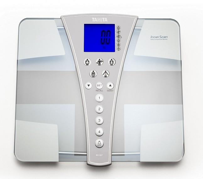 Tanita osobní váha s tělesnou analýzou BC-587