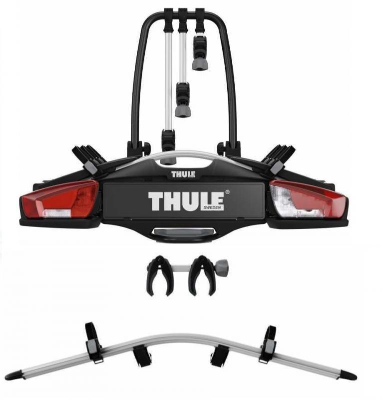 Thule VeloCompact 926 nosič na tažné na 3 kola + adaptér pro 4. kolo