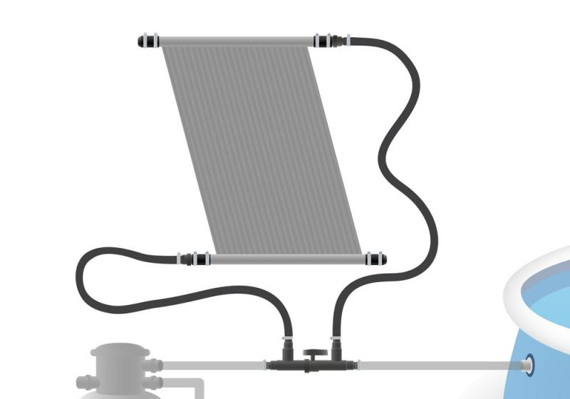 Titan Sada pro připojení panelu d50 do systému d32 + uzavírací ventil