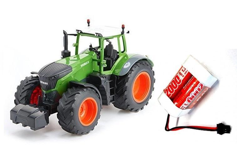 Traktor na dálkové ovládání 1:16 2.4GHz + 1x náhradní akumulátor 2000mAh