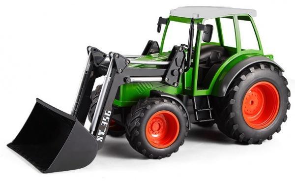 RCobchod Traktor s funkčním čelním nakladačem RTR 1:16
