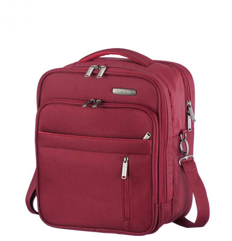Travelite Capri Board Bag palubní taška Red 28x35x19 cm 19l
