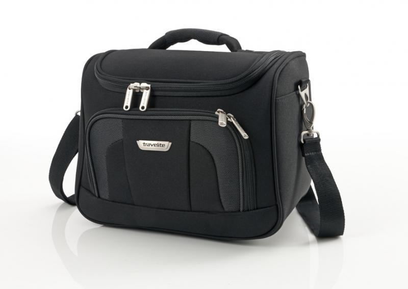 Travelite Orlando Beauty Case Black kufr