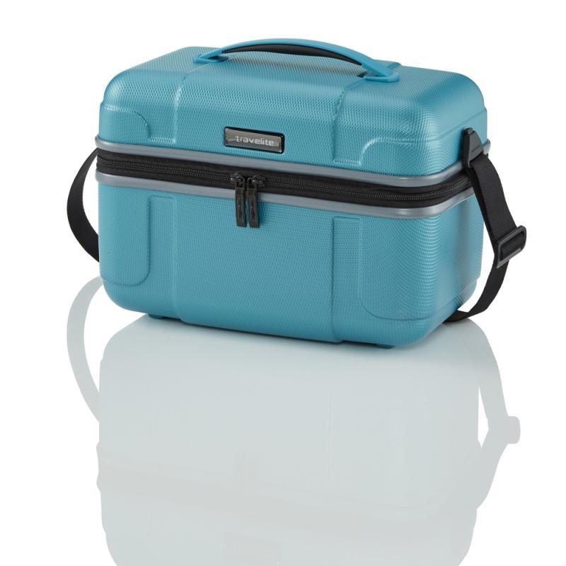 Travelite Vector Beauty case Turquoise kufr