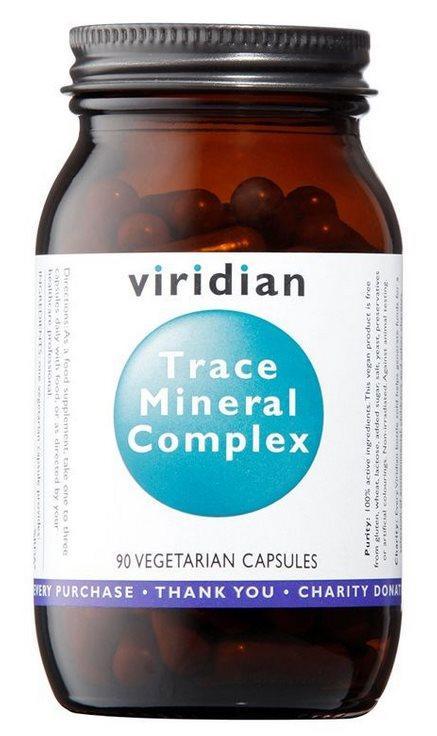 Viridian Trace Mineral Complex (Komplex stopových minerálů) 90 kapslí