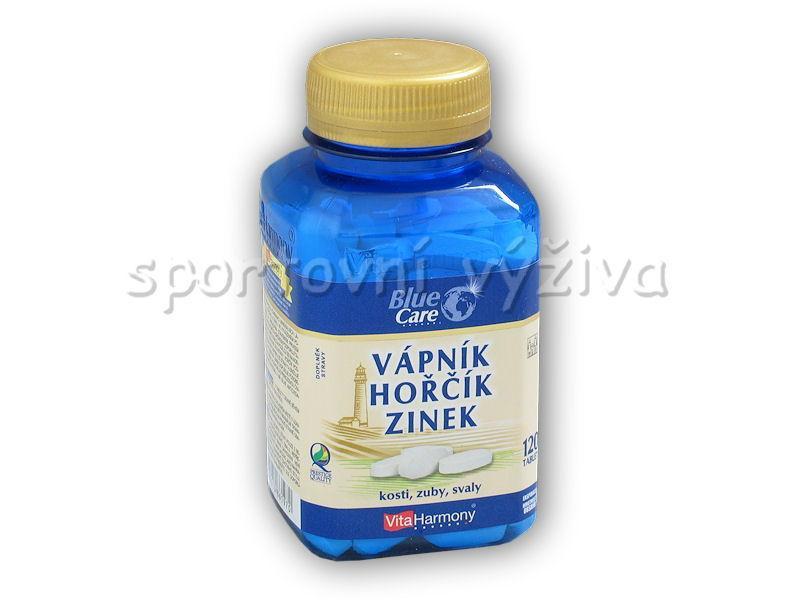 VitaHarmony Vápník hořčík zinek 120 tablet