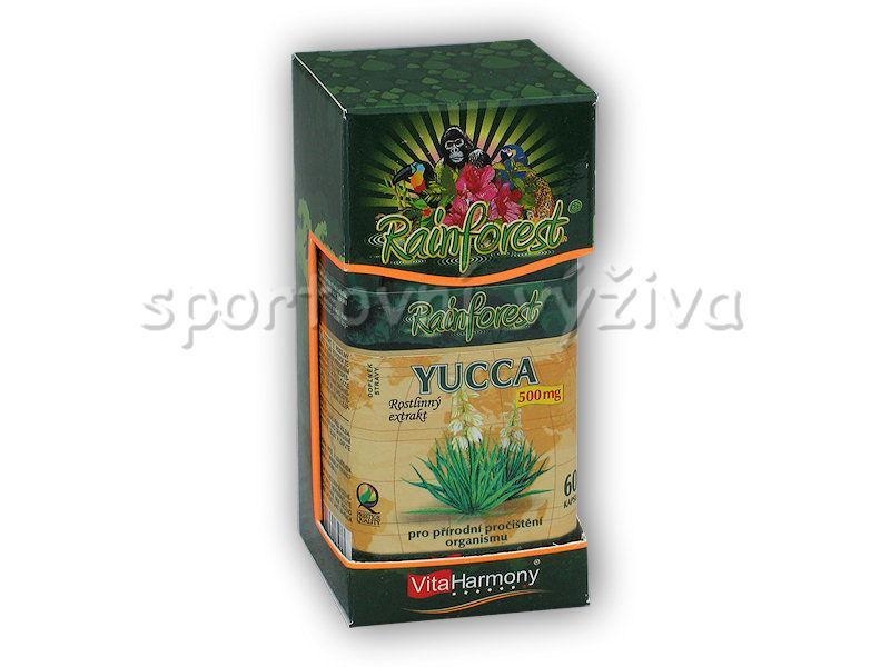 VitaHarmony Yucca 500mg 60 kapslí