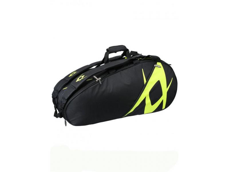 Volkl Team Combi Black/Neon taška na rakety