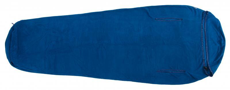 Warmpeace VLOŽKA DO SPACÁKU POLARTEC MICRO Mummy 180 cm - berry - červená