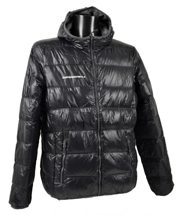 Winnwell JN 1060 péřová bunda - černá, Senior, M, WH1X